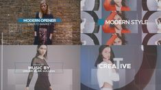 'New Style' simple and amazing controllable project for making your own media slideshow .You can use images instead of videos . Very simple and well organize fully controllable project. Teaser, Make Your Own, Music, Modern, Youtube, Projects, Organize, Templates, Simple