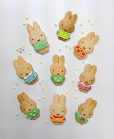 Miffy cookies by yaemi (@mitroparade)