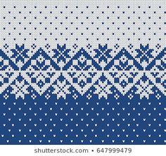 Fair Isle Knitting Patterns, Fair Isle Pattern, Knitting Charts, Knitting Socks, Swedish Embroidery, Basic Embroidery Stitches, Cross Stitch Embroidery, Fair Isle Chart, American Quilt