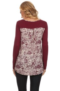 The Port Tag Online, Boutique, Blouse, Lace, Long Sleeve, Sleeves, Tops, Women, Fashion