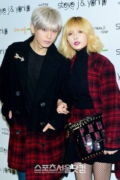 B2ST's Hyunseung,... (and 4minute's HyunA)