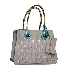 grey greming hand bag