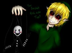 I came with this idea a mouth ago and this is my third creepypasta base. Here's mine point of view Slenderman send his proxies, Masky, Hoodie and Toby o. Slenderman Proxy, Creepypasta Slenderman, Ben Drowned, Pole Bear, The Marionette, Creeped Out, Laughing Jack, Jeff The Killer, Twilight Princess