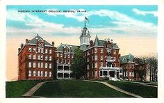 Bristol Virginia VA 1920s Virginia Intermont College Vintage Postcard 29432