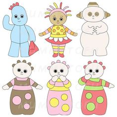Image result for in the night garden drawings