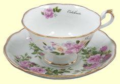 teacups   Teacups Bone China and Fine Porcelain Tea Cups many with matching ...