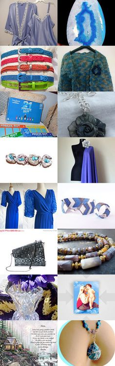 BLUE BLAZING FINDS by Libbey on Etsy--Pinned with TreasuryPin.com