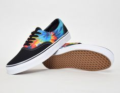 #Vans Era Tie Dye Black #sneakers  -  follow - ralphiscorner.tumblr.com  use repcode  ( ralphiwarren ) for karmaloop discounts   http://www.karmaloop.com
