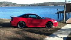 2000 Mustang GT  Roush Stage 3 kit Cobra R hood  Saleen wing