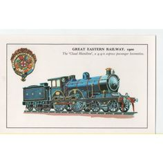 Colourmaster Great Eastern 1900 The Claud Hamilton 4-4-0 Express Passenger Loco Listing in the Rail,Transportation,Postcards,Collectables Category on eBid United Kingdom | 142652781