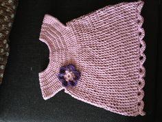 Hæklet babykjole