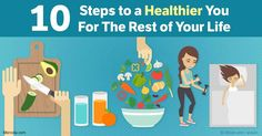 Here are the 10 healthy lifestyle changes that can improve your health, including eating an avocado each day, making fermented vegetables and more.