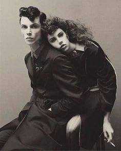 Andy Biersack modelling for VOUGE ITALIA!!!!!!!!! He is so stunning!!