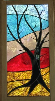 Tree at Dawn by Sarah Davis. Talented artist, lovely detail.