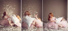 ballerina pillow fight session at natural light studio at tindale ...