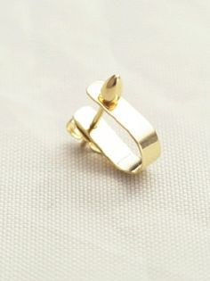 Kathleen Whitaker 14K Gold Small Ear Cuff