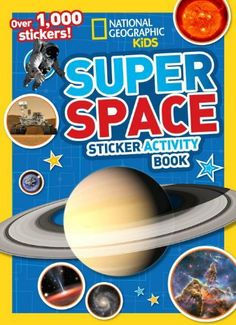 National Geographic Kids Super Space Sticker Activity Book: Over 1,000 Stickers! by National Geographic Kids, A great way for kids to learn about space. Would also be fantastic for children's programs.