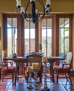 Dining Room at Casa Del Mar
