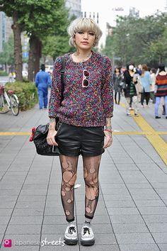 AKANE - Shibuya, Tokyo, Forever21, Red Goatee Tattoo, George Cox, Bunka Bunkasai 2013