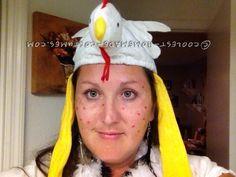 Witty Homemade Wordplay Costume Idea: Chicken Pox… Coolest Halloween Costume Contest