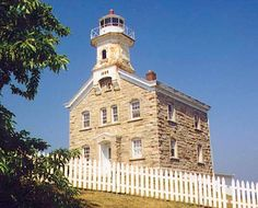 Great Captain Island Light, CT; Great Captain Island, western Long Island Sound, north of main channel into East River. In 1998 the Greenwich Chamber of Commerce started a campaign to restore and relight Great Captain Island Light. The fundraising effort has raised $250,000 for restoration, and the Town of Greenwich will pay the rest of the cost. In 2012 the tower was relighted. There is a resident caretaker.