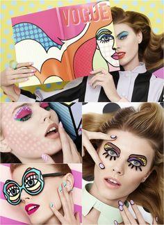 WHEN POP ART + FASHION COLLIDE Pop Art In Fashion Vogue Japan, March 2013