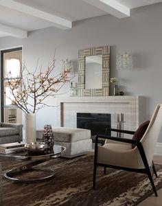 5TH AVE + 97TH Weitzman Halpern fireplace living room