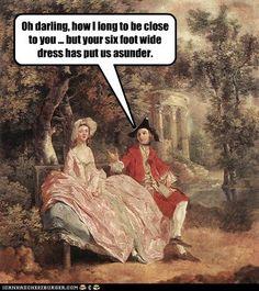 #18thCenturyProblems - history nerd humor :-)