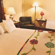 Habitación matrimonial en Villa Vicuña Cafayate
