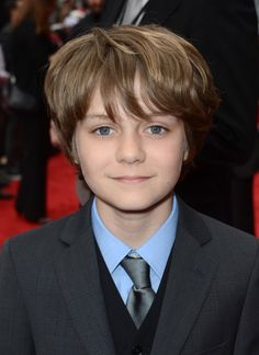 Ty Simpkins at event of Iron Man 3 please follow me,thank you i will refollow you later