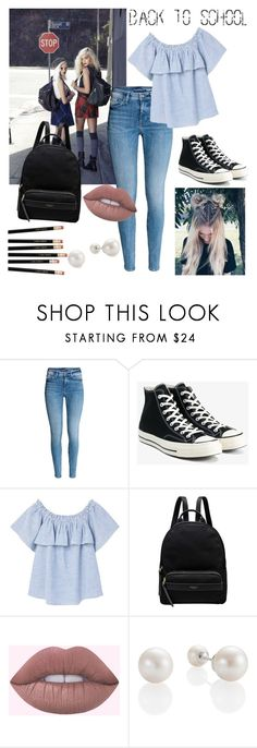 """Back to School: High School"" by merylrs ❤ liked on Polyvore featuring Converse, MANGO and Radley"