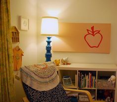 I have a similar lamp that needs repainted and shaded... like the blue