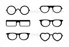 Glasses  #GraphicRiver         Vector Set of Glasses On White     Created: 18October13 GraphicsFilesIncluded: JPGImage #VectorEPS Layered: No MinimumAdobeCSVersion: CS Tags: background #black #character #collection #comic #costume #curl #design #disguise #eyeglasses #face #fashion #funny #geek #glasses #head #hipster #icon #illustration #male #man #men #people #retro #set #silhouette #simple #style #vector #vintage