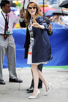 Emma stone visited good morning america s nyc set to promote her