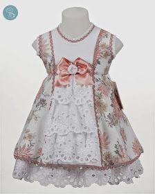 Bea Cadillac vestido flores Tienda moda infantil vestido niña                                                                                                                                                                                 Más