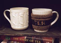 Tea cozy knitting pattern.
