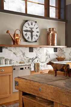 Country Kitchen.  check out Cole Creek Ranch Services boards if you like this look!