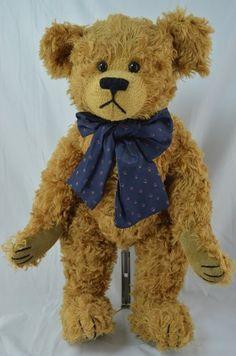"Boyd's Bears - Lincoln B Bearington 16"" #590022-08 Retired Poseable- Mohair Bears"