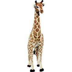 Let this fuzzy stuffed giraffe inspire rainy day safari adventures, or set him beside your little one's bed as a cuddly reading companion.  Product: Stuff...