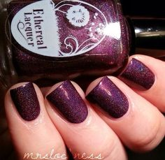 Ethereal Lacquer - Black Rose