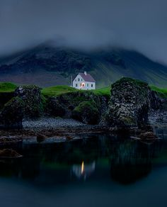 Lonely house on pinterest iceland abandoned and little for Iceland lonely house
