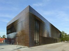 Museo Estatal y Gimnasio de Louisiana / Trahan Architects Louisiana State Museum and Sports Hall of Fame / Trahan Architects – Plataforma Arquitectura