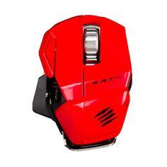 #Raton Laser Inalambrico Mad Catz R.A.T M 6400 DPI Rojo  en  http://www.opirata.com/raton-laser-inalambrico-catz-6400-rojo-p-16666.html