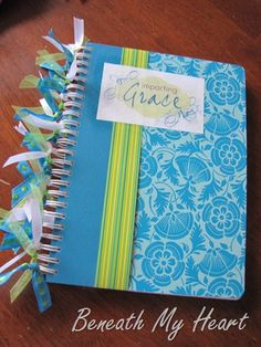 DIY Embellished Notebook