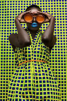 african fashion Amazing and talented Kenyan photographer Thandiwe Muriu Photography releases these stunning chic and editorial images with print clothes and matching backgrounds in celebration of black beauty with an African Dresses For Women, African Men Fashion, African Print Dresses, African Fashion Dresses, African Wear, African Women, African Outfits, African Beauty, Foto Fun