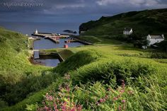 Lybster Harbour Caithness, Scotland