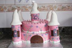 Tarta castillo de princesa para una princesilla