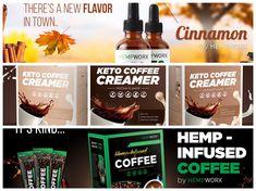 Keto Coffee Creamer, Keto Coffee Recipe, Coffee Recipes, Keto Smoothie Recipes, Keto Recipes, Easy Smoothies, New Flavour, Cheap Meals, Hemp Oil