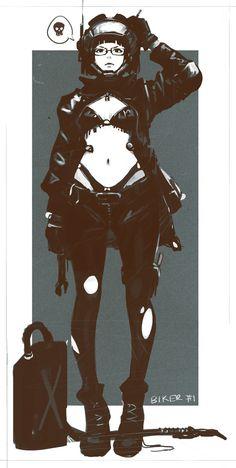 Character Sketches #3, Z.W. Gu on ArtStation at https://www.artstation.com/artwork/AarWz