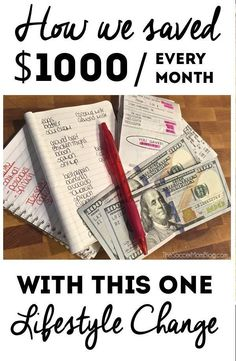 how to draw up a monthly budget